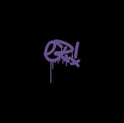 Sealed Graffiti | Little EZ (Monster Purple)