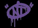 Sealed Graffiti | NT (Monster Purple)