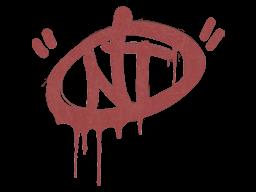 Запечатанный граффити | Хорошая попытка (Кровавый красный)