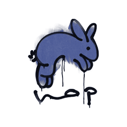 Sealed Graffiti   Hop (SWAT Blue)