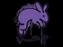 Sealed Graffiti   Hop (Monster Purple)