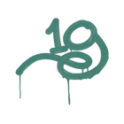 Sealed Graffiti   1G (Frog Green)