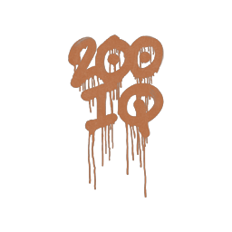 Sealed Graffiti   200 IQ (Tiger Orange)