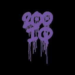 Sealed Graffiti   200 IQ (Monster Purple)