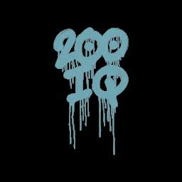 Sealed Graffiti   200 IQ (Wire Blue)