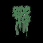 Sealed Graffiti   200 IQ (Jungle Green)
