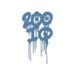 Sealed Graffiti   200 IQ (Monarch Blue)