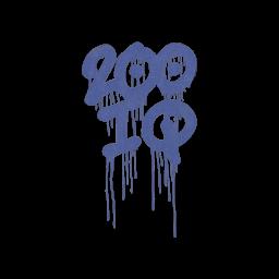 Sealed Graffiti   200 IQ (SWAT Blue)