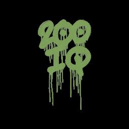 Sealed Graffiti   200 IQ (Battle Green)