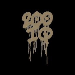 Sealed Graffiti   200 IQ (Dust Brown)