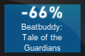 66% OFF Beatbuddy: Tale of the Guardians