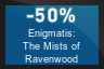 50% OFF Enigmatis: The Mists of Ravenwood
