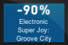 90% OFF Electronic Super Joy: Groove City
