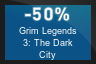 50% OFF Grim Legends 3: The Dark City