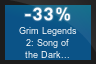 33% OFF Grim Legends 2: Song of the Dark Swan