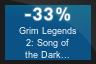 33% OFF Grim Legends 2: Song of the Dark Swan