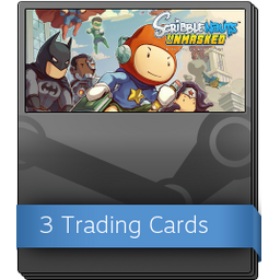 Scribblenauts Unmasked Booster Pack