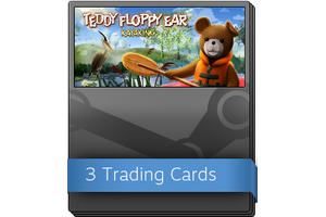 Teddy Floppy Ear Kayaking Booster Pack