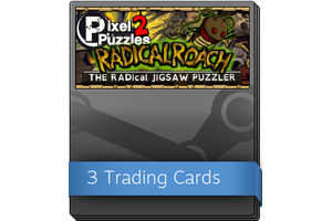 Pixel Puzzles 2 Radical Roach Booster Pack