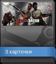 Набор карточек из Blood and Bacon