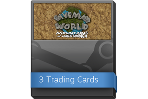 Caveman World Mountains Of Unga Boonga Booster Pack