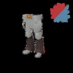 Strange Flared Frontiersman