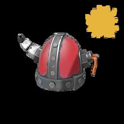 Strange Unusual Tyrantium Helmet