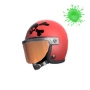 Unusual Death Racer's Helmet