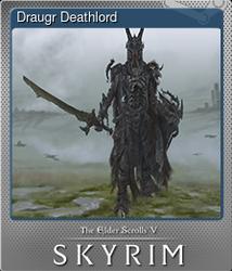 Draugr Deathlord (Металлическая)