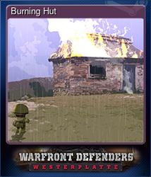 Burning Hut (Коллекционная карточка)