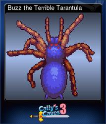 Buzz the Terrible Tarantula