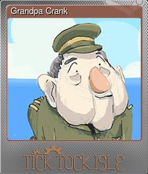 Grandpa Crank (Металлическая)