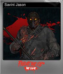 Savini Jason (Коллекционная карточка Металлическая)