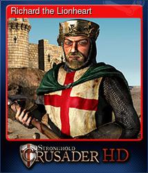 Richard the Lionheart (Коллекционная карточка)