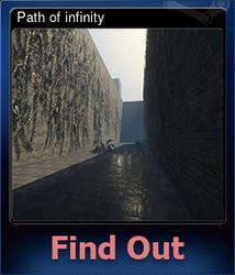 Path of infinity