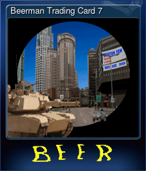 Beerman Trading Card 7