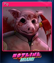 Pig (Коллекционная карточка)