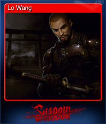 Lo Wang (Коллекционная карточка)
