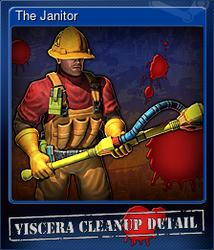 The Janitor (Коллекционная карточка)