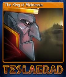 The King of Elektropia (Коллекционная карточка)