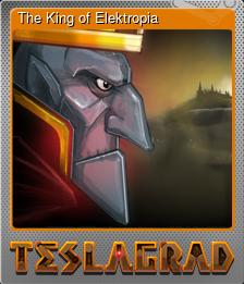 The King of Elektropia (Коллекционная карточка Металлическая)