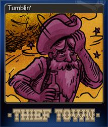 Tumblin' (Коллекционная карточка)