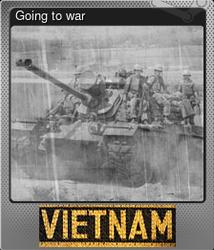 Going to war (Металлическая)