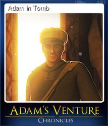 Adam in Tomb