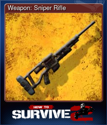 Weapon: Sniper Rifle