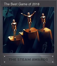 The Best Game of 2018 (Коллекционная карточка)