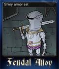 Shiny armor set