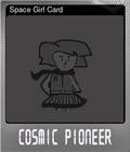 Space Girl Card