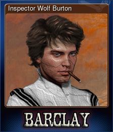 Inspector Wolf Burton