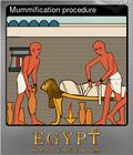 Mummification procedure